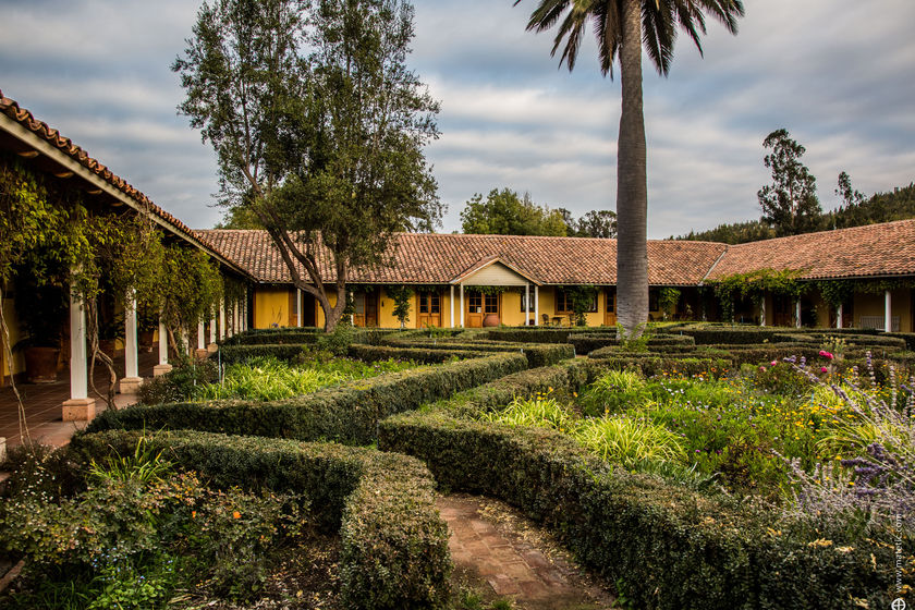 La Casona Hotel, Matetic Vineyards, Rosario Valley