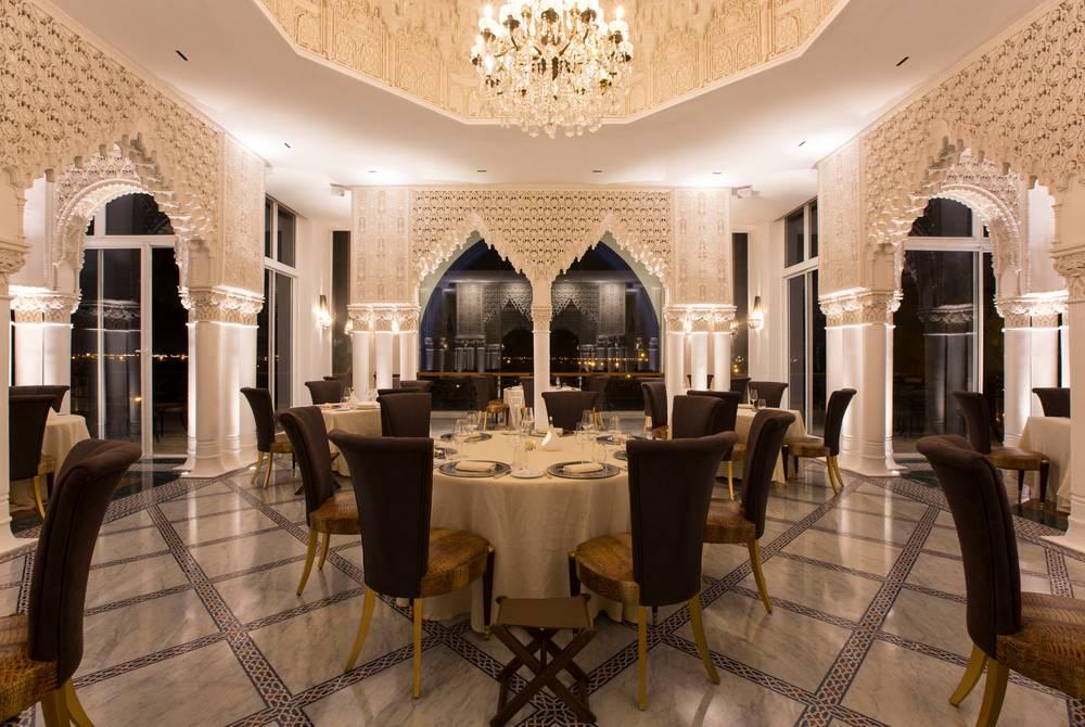 La Cour des Lions restaurant, Es Saadi Palace