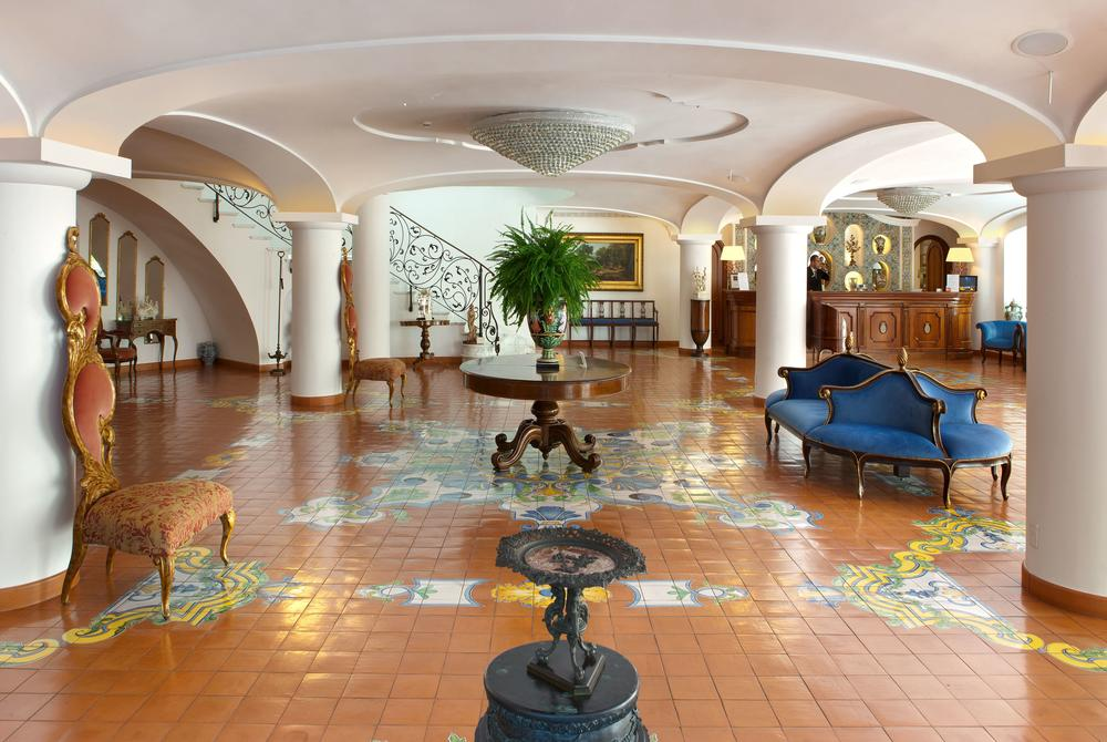 Grand Hotel La Favorita lobby