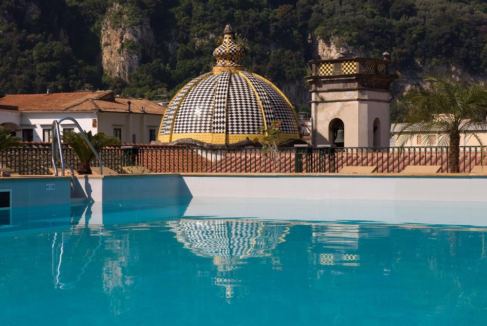 Grand Hotel La Favorita rooftop pool