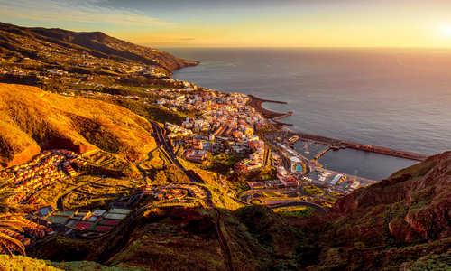 La Palma island in Spain