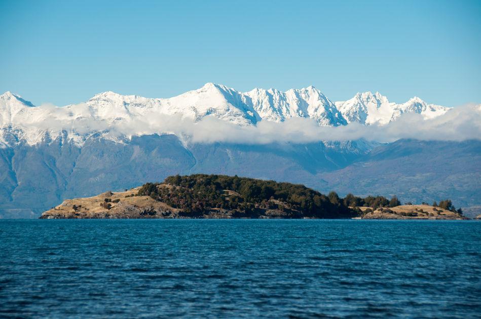 Lago General Carrera Austral in Chile