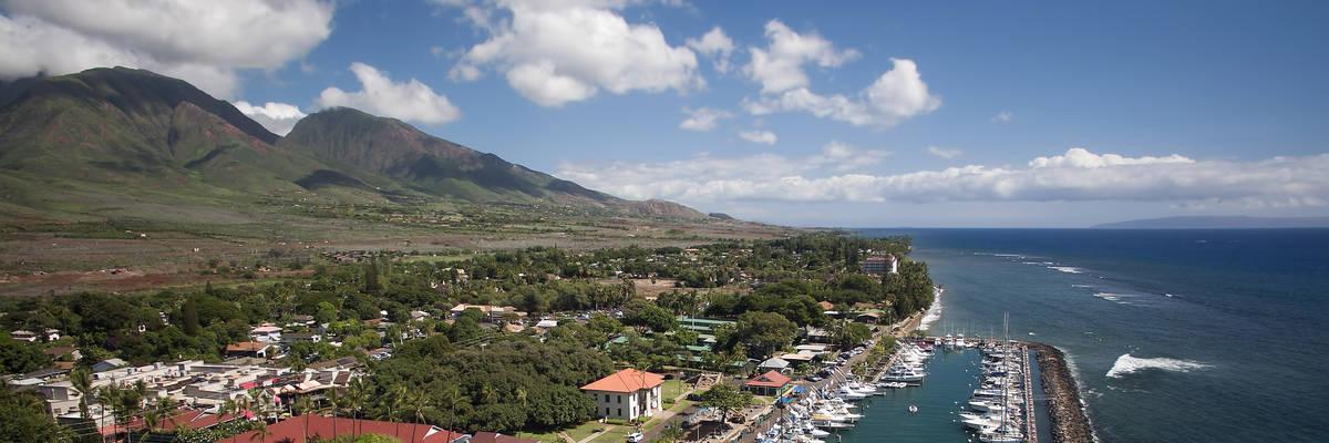Lahaina Harbor - Lahaina, Maui, Hawaii
