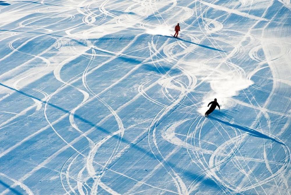Skiing at Levi, Finnish Lapland
