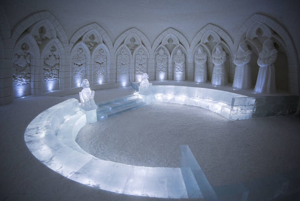 Lainio Snow Village: Artic Illusions