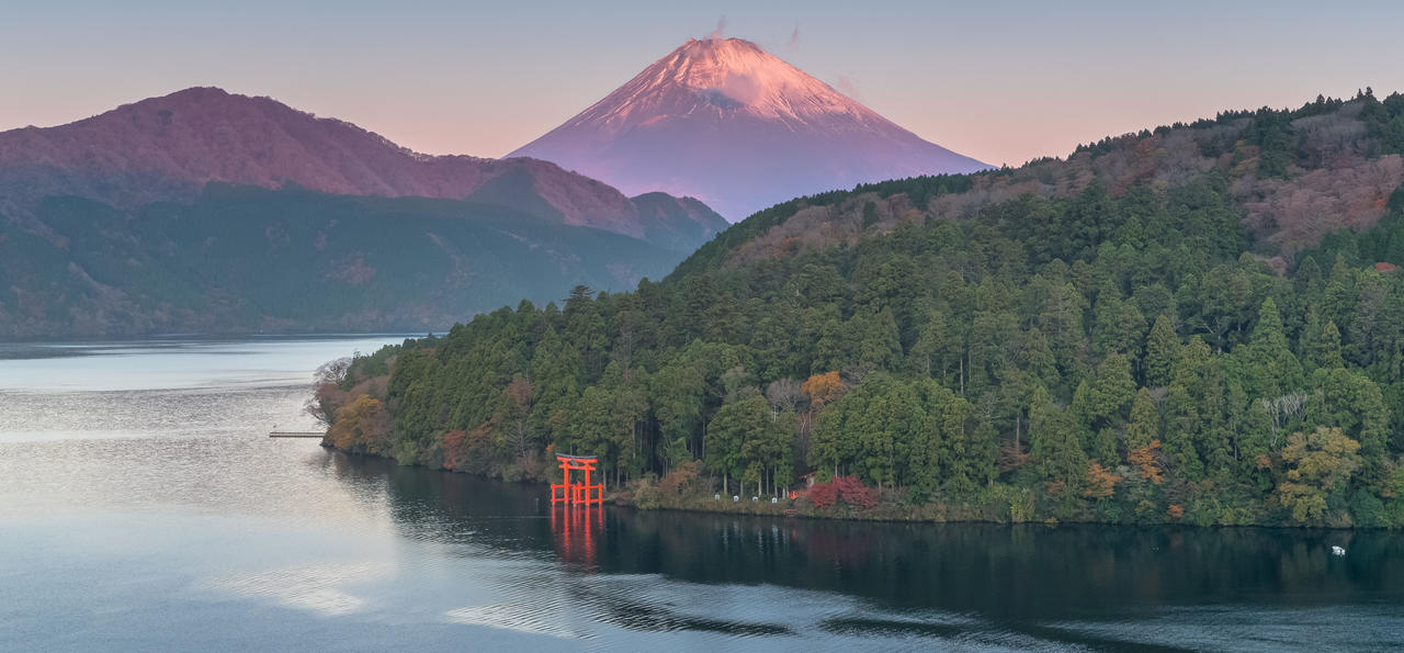 Lake Ashi and Mt. Fuji, Hakone