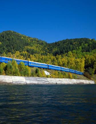 Lake Baikal, Golden Eagle Trans-Siberian Express