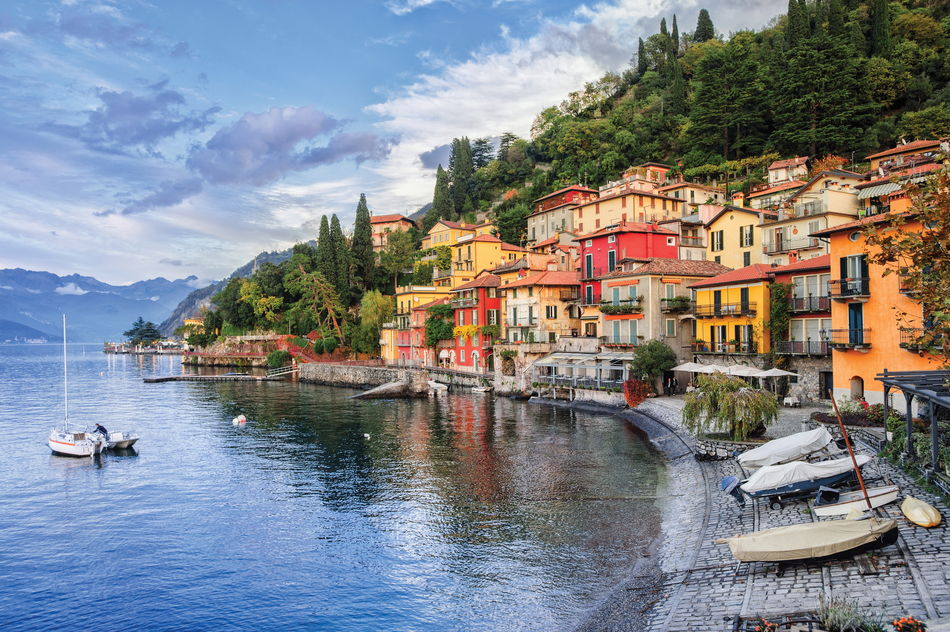 A view of Lake Como, Italy