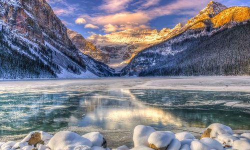 Lake Louise, Winter
