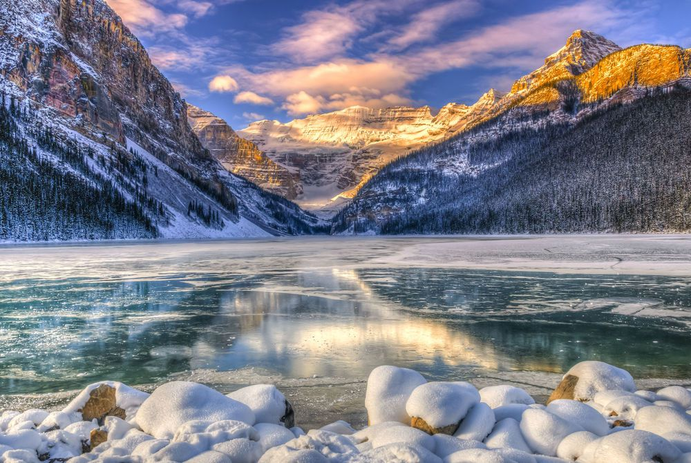 Lake Louise, Winter