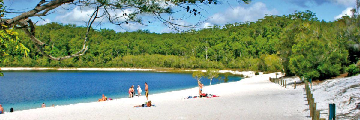 Lake McKenzie, Fraser Island, Queensland, Ausralia