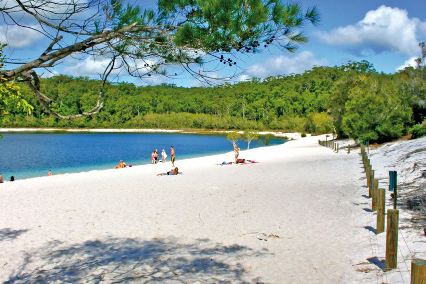 Taking L To Fraser Island