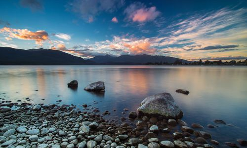 Lake Te Anau / New Zealand