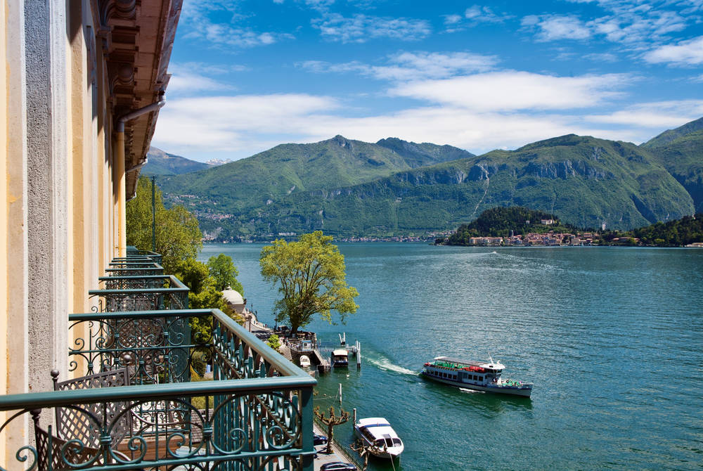 Lake View Balcony, Grand Hotel Tremezzo