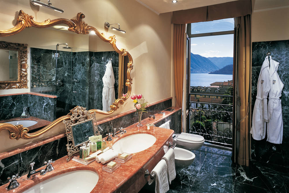 Lake View Deluxe Bathroom, Grand Hotel Tremezzo