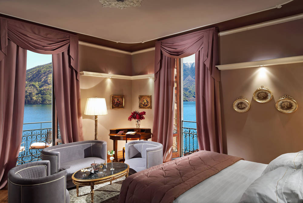 Lake View Deluxe Room, Grand Hotel Tremezzo