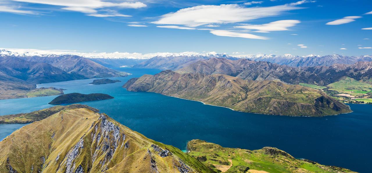 Lake Wanaka and Mt. Aspiring