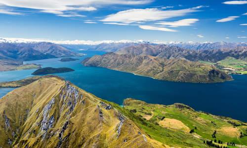 Lake Wanaka and Mt. Aspiring, New Zealand