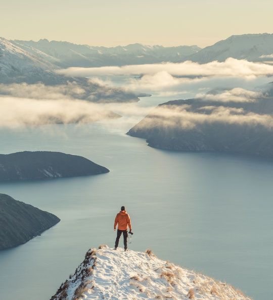 Lake Wanaka view from Roy's Peak, New Zealand