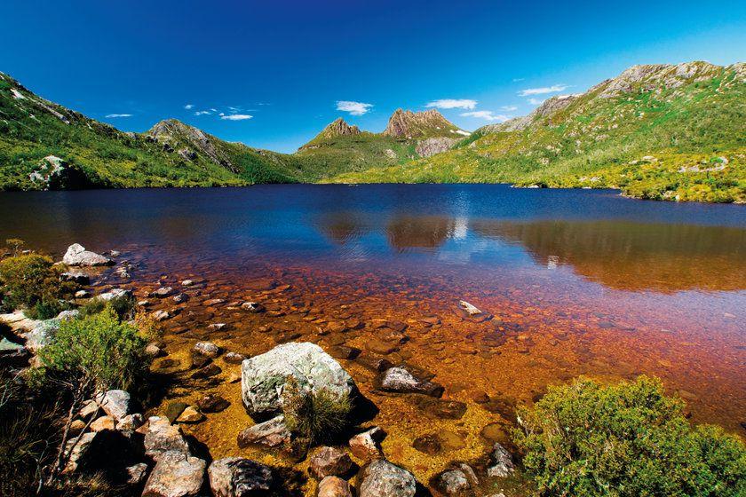 Lake at Cradle Mountain, Tasmania, Australia