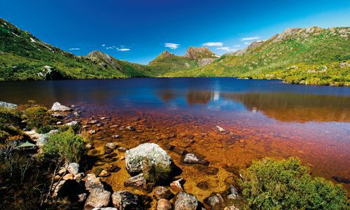 Lake at Cradle Mountain, Tasmania, Australia