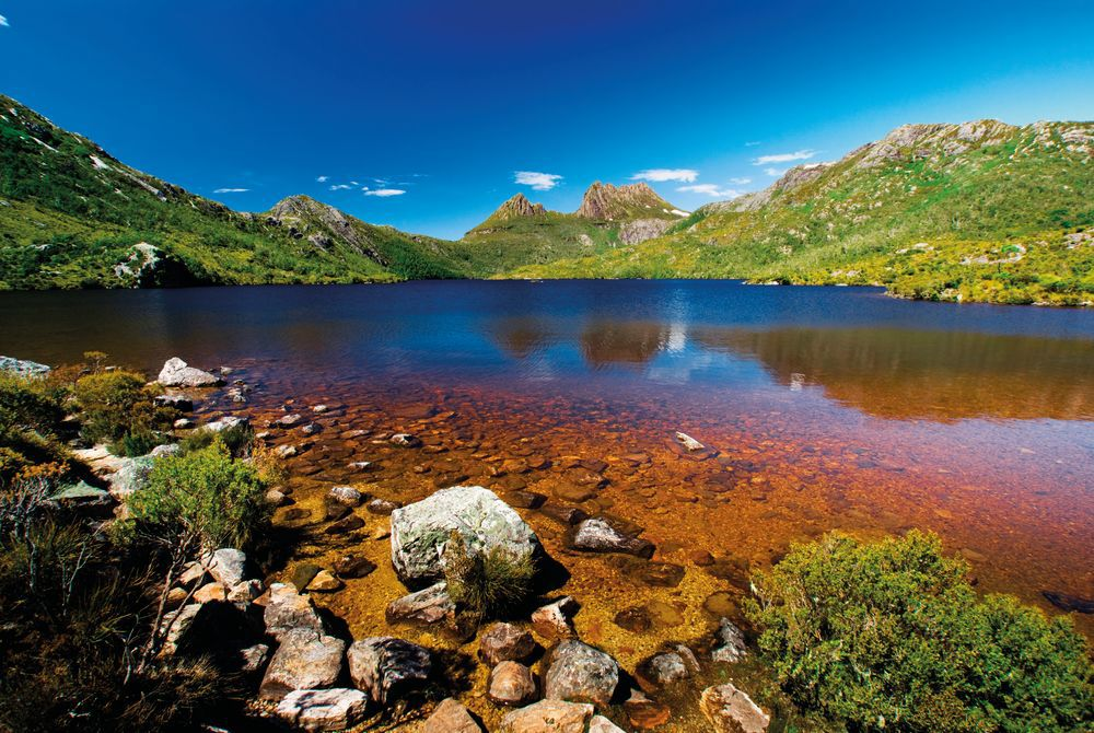 Lake at Cradle Mountain, Tasmania