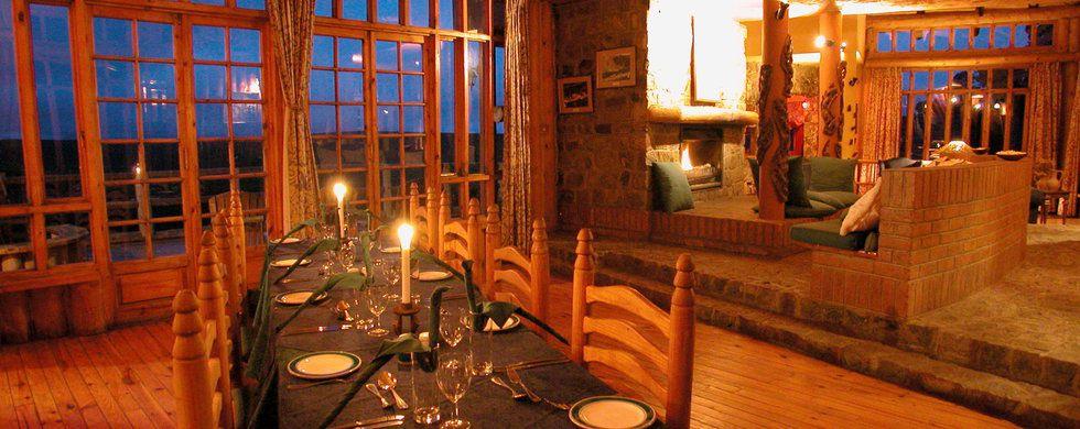 Restaurant, Chelinda Lodge, Nyika National Park, Malawi