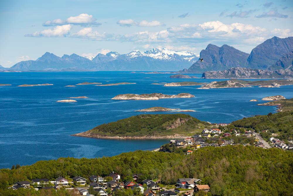 Landscape in Bodo, Norway