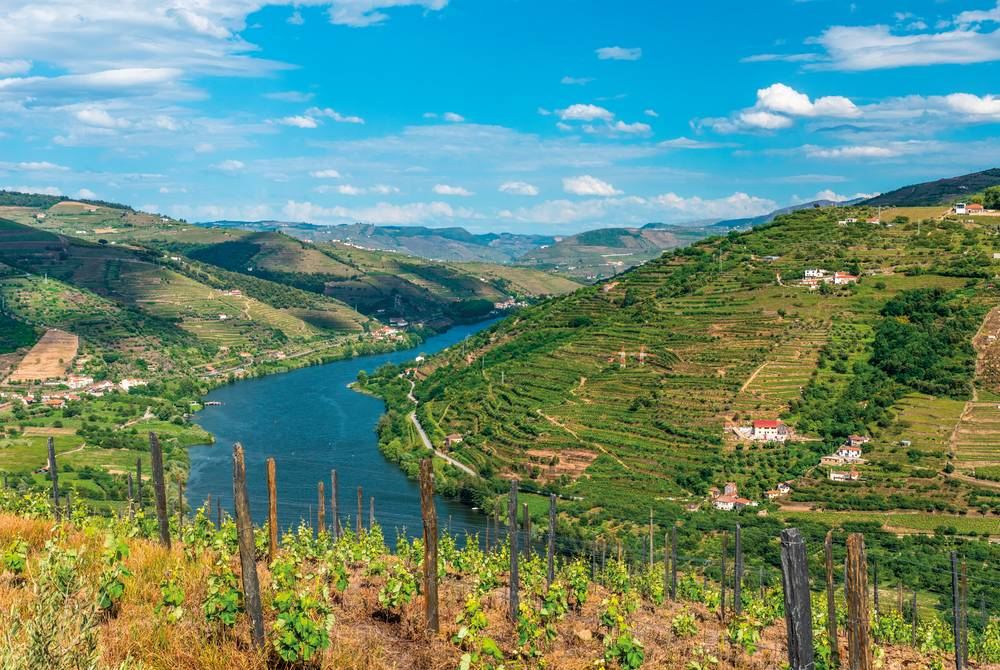Douro river valley, Portugal