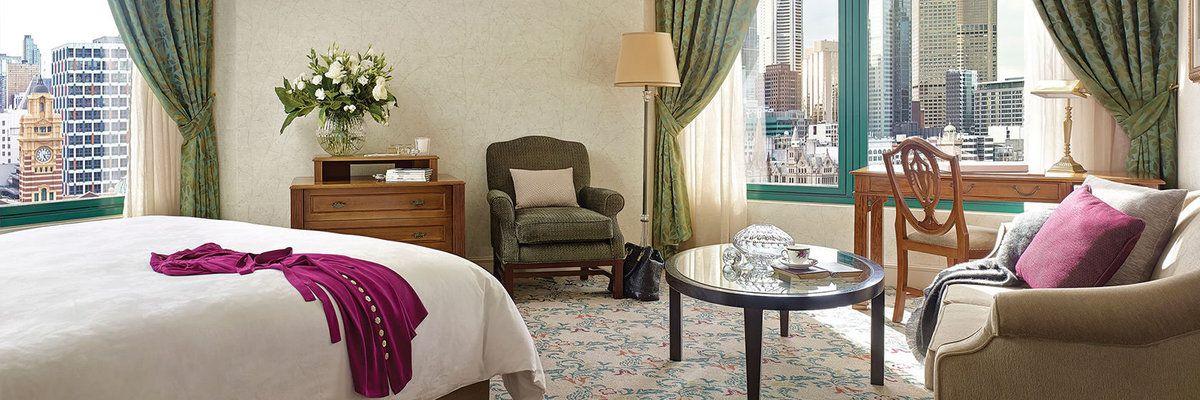Langham Hotel suite