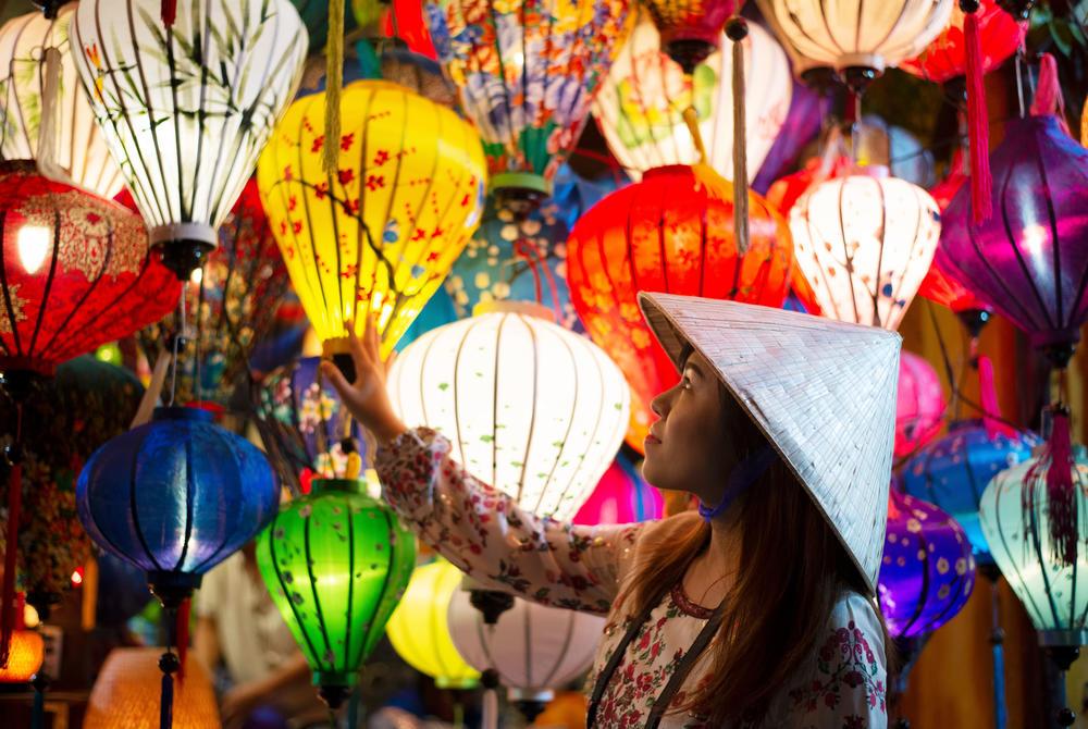 Silk lanterns in Hoi An