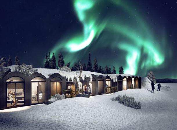 Apukka Aurora Borealis Resort, Rovaniemi