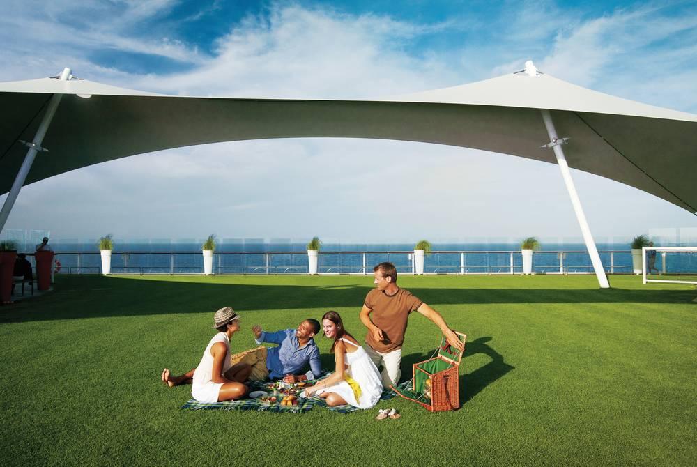 Lawn Club, Celebrity Cruises