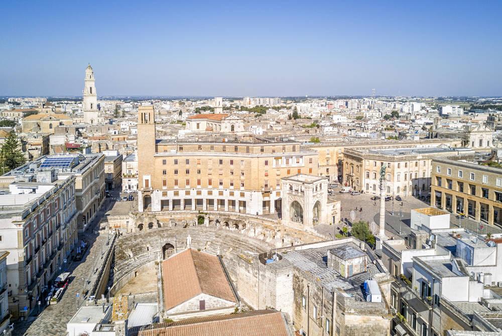 Lecce's city centre