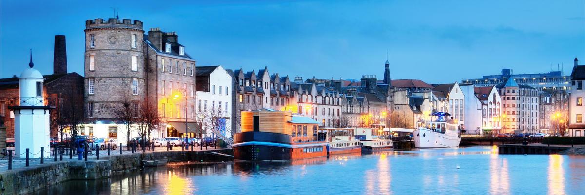 Leith, Edinburgh, Scotland, UK