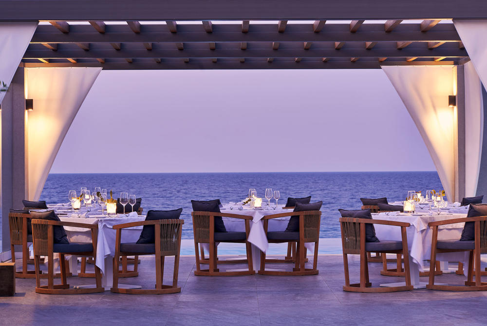 Melia fine dining restaurant