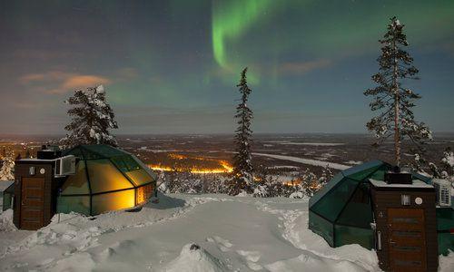 Levi Igloo, Utsuvaara, Finnish Lapland