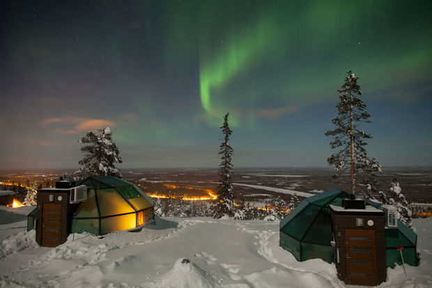 Glass Igloos Finland