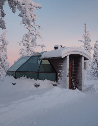 Levin Iglut glass Igloos, Finnish Lapland