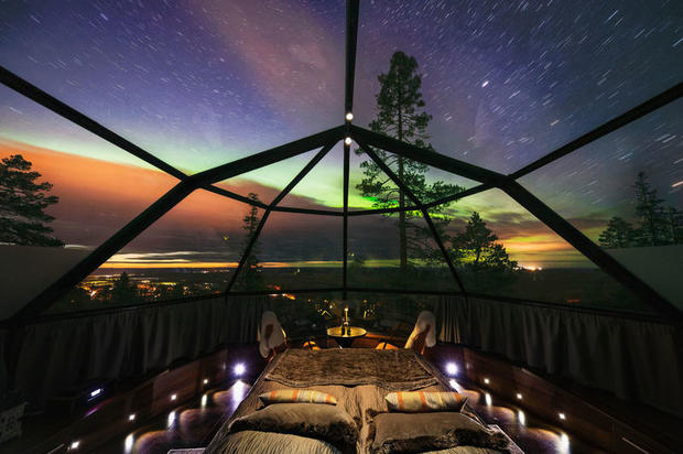 Levin Iglut (Levi Igloo) glass igloo hotel – one of the best hotels in Lapland