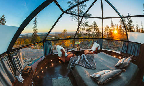 A  room with a view: Glass igloos and other innovations