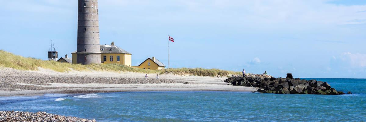 Lighthouse in Skagen, Denmark