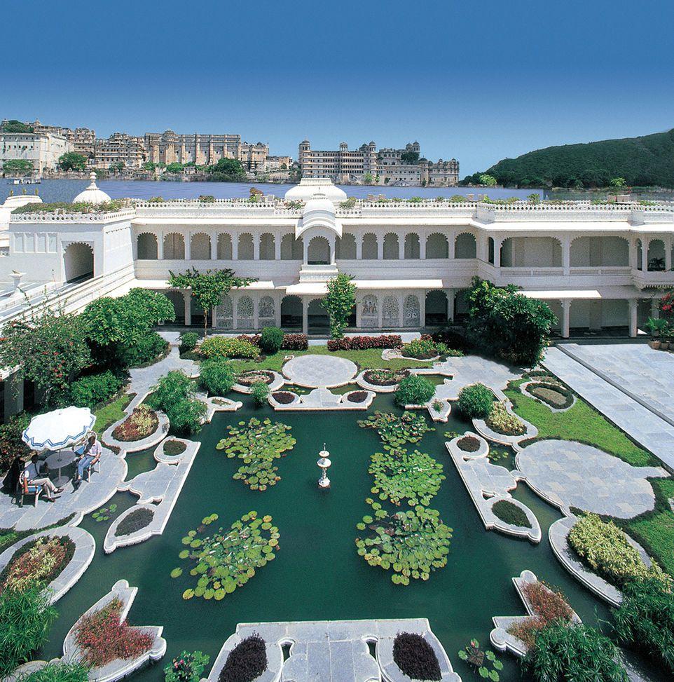 Lilypond, Taj Lake Palace, Udaipur