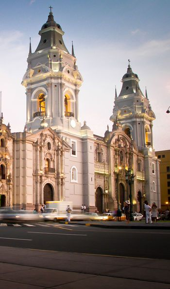 Plaza Mayor, Lima, Peru, South America