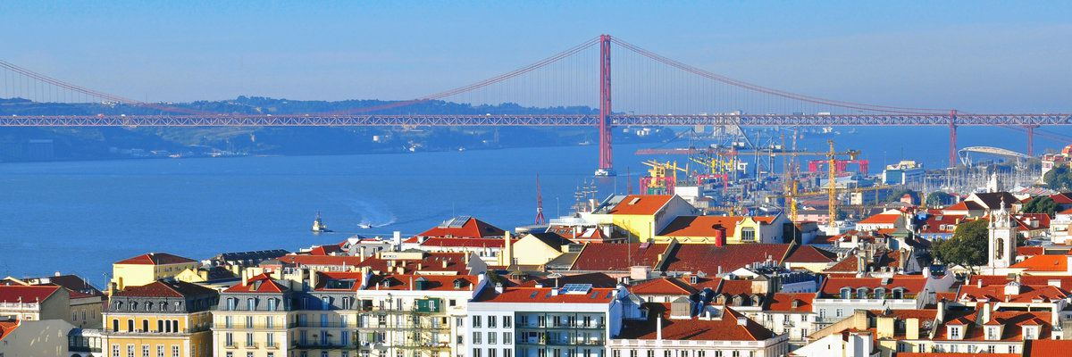 Historical city of Lisbon, Portugal