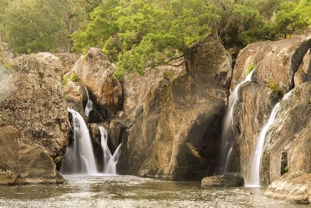 Little Millstream Falls near Ravenshoe, Atherton Tablelands, Queensland