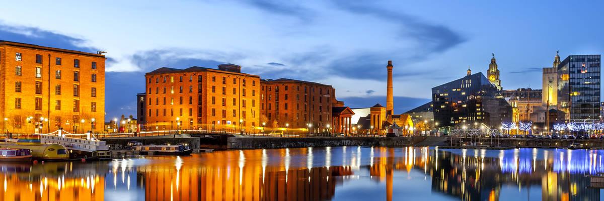 Liverpool waterfront skyline