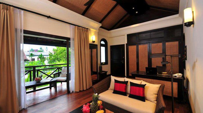Living room area- Suite Affair, Ansara Hotel, Vientiane