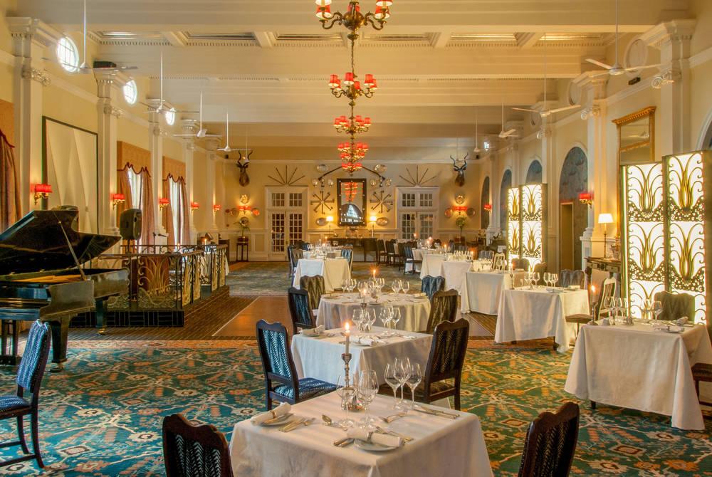 Livingstone Dining Room, Victoria Falls Hotel