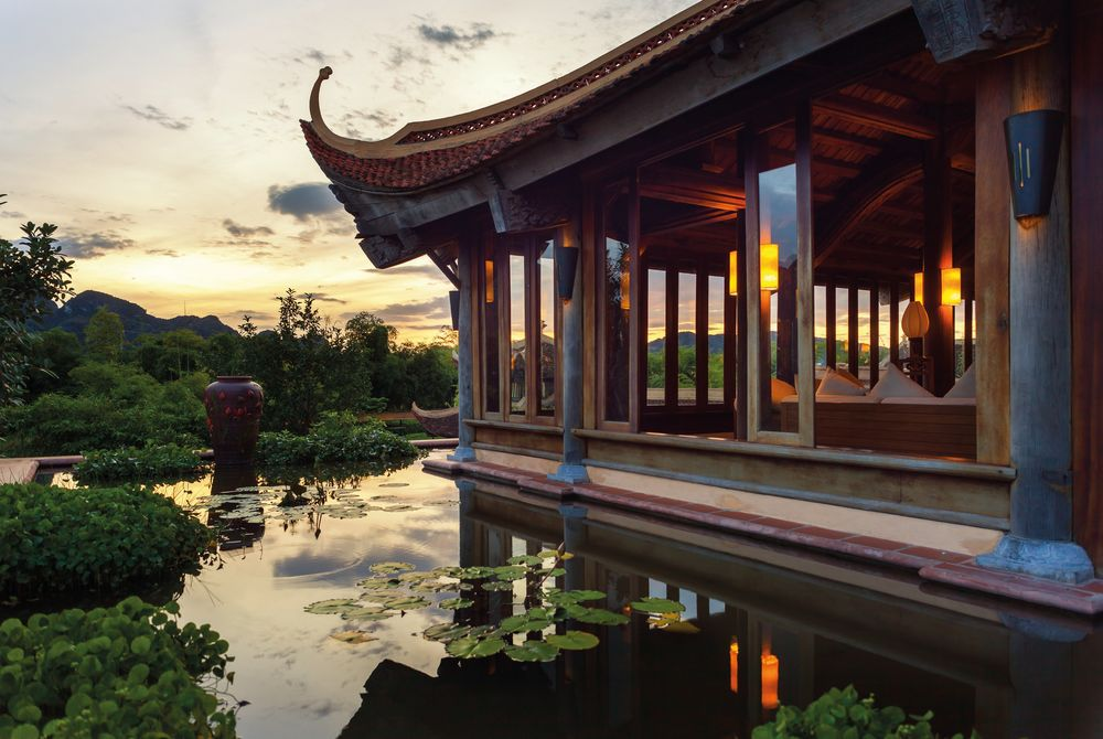 Lobby, Emeralda Resort, Ninh Binh